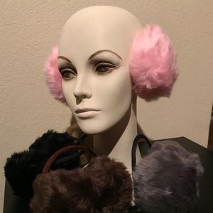 Accessories - Faux fur earmuffs